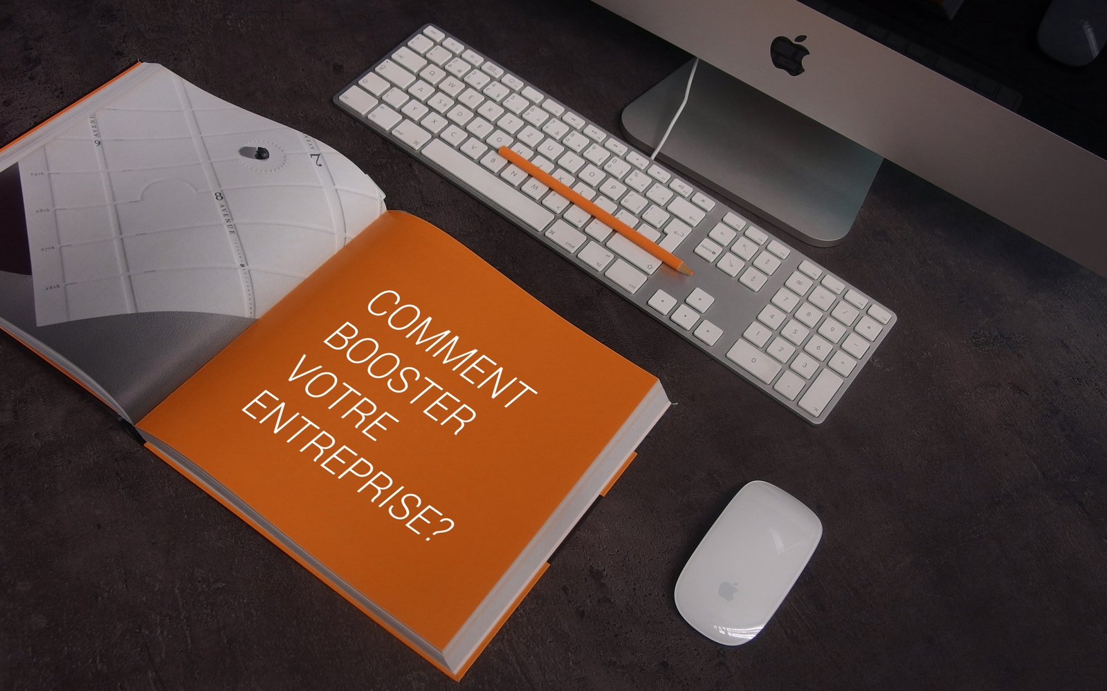 livre avec titre: comment booster son entreprise? et création de site internet
