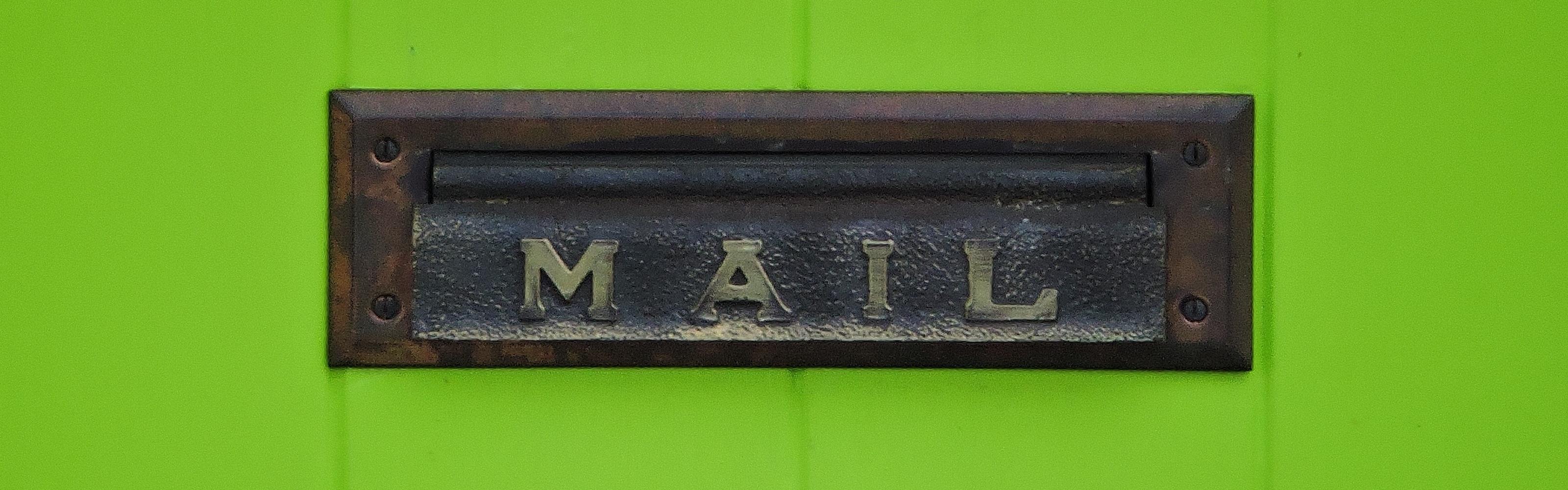 boite aux lettres MAILING
